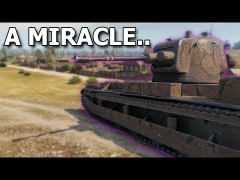 A Miracle.. - 25TP KSUST II - World of Tanks thumbnail
