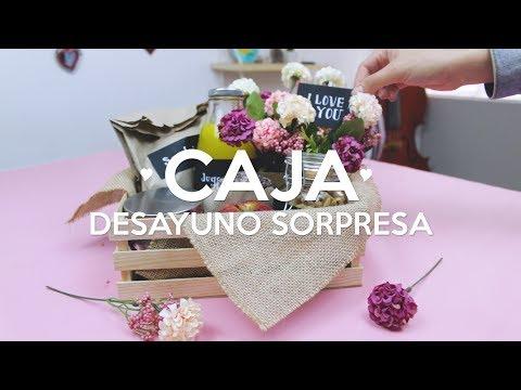DIY CAJA DESAYUNO SOPRESA / WenDIY