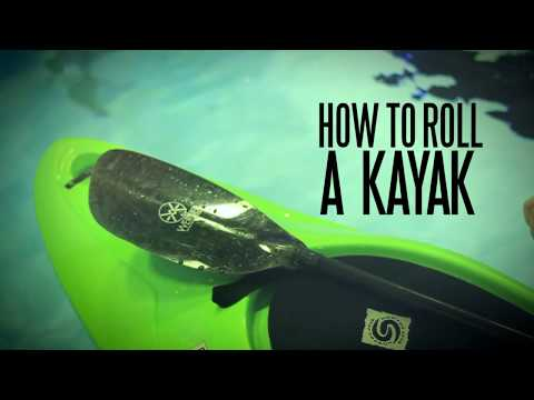 How to Roll a Kayak - Sweep Roll Review/Overview