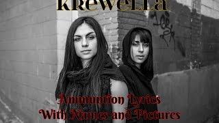 krewella   ammunition lyrics with namespictures