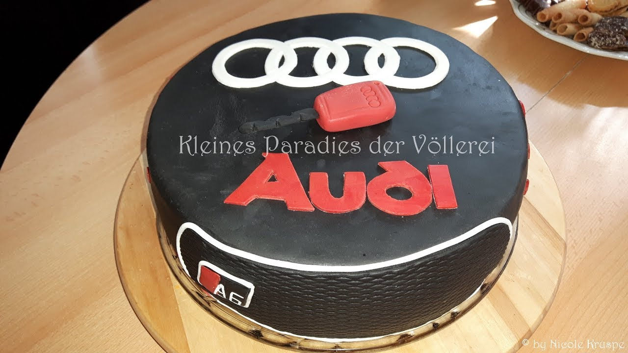 audi torte psstark in den 40 geburtstag geschlemmt youtube. Black Bedroom Furniture Sets. Home Design Ideas