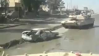 100 14 Взрыв под танком Абрамс М1   и поехал дальше The Explosion Of A Tank   прош