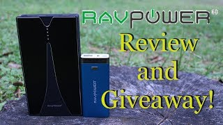 RavPower Luster Series 6000mAh External Battery Review and Giveaway!
