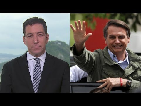 Glenn Greenwald on Election of Bolsonaro: Democratic Values & Human Rights Are At Risk in Brazil