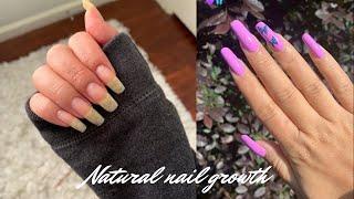 *UPDATED* Natural Nail Growth Process