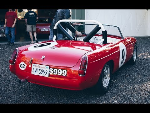 1967 MGB Roadster Vintage Racer - One Take