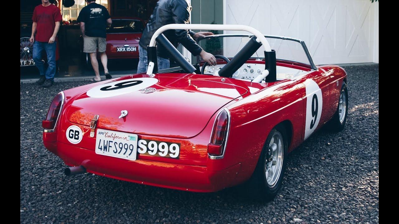 1967 MGB Roadster Vintage Racer - One Take