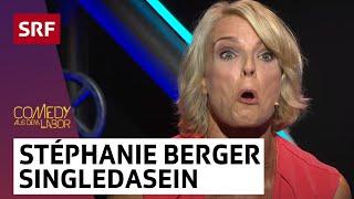 Stéphanie Berger ist schön bei Comedy aus dem Labor