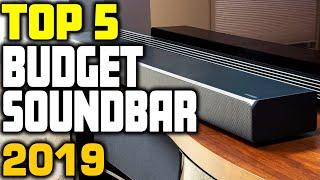Best Budget Soundbar in 2019 | Top 5 Cheap Soundbars