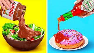 REAL FOODIE || 30 Food Tricks You Won't Believe Are Real