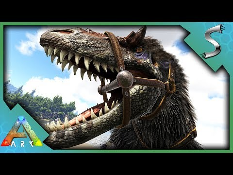 YUTYRANNUS TAMING & BREEDING! FEAR & COURAGE ROAR TO TAME CARNOS! - Ark: Survival Evolved [S3E113]