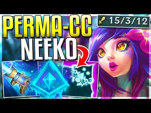 PERMA-CC NEEKO IS HER 1 OP BUILD LAND EVERY SKILL EASILY Neeko Mid Gameplay  Redmercy