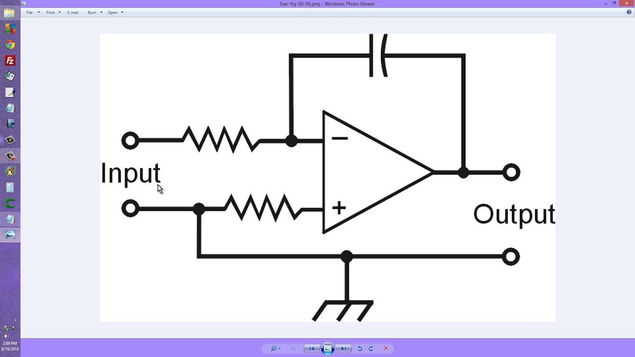Op Amp Integrator Youtube Diagram