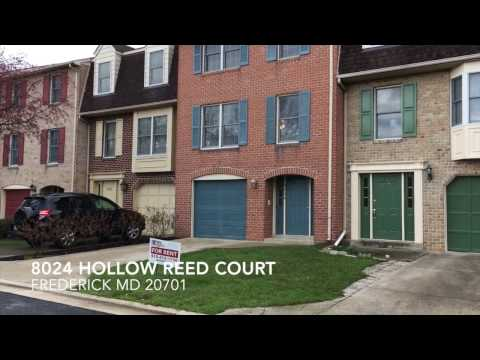 for-rent-8024-hollow-reed-frederick-maryland-3-bed-2-bath-1-car-garage-townhome
