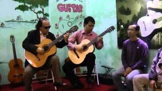Polonaise_ Oginsky. Song tấu guitar: Văn Vượng - Đức Hiển