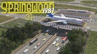 Cities Skylines Springwood Airport Layout - EP24 -