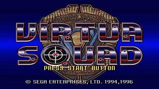 Virtua Cop (Arcade/Sega/1994) [720p]