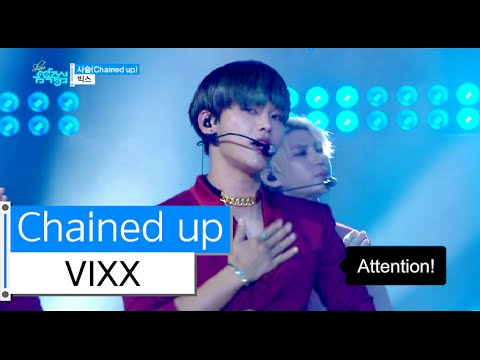 [HOT] VIXX - Chained up, 빅스 - 사슬, Show Music core 20151121