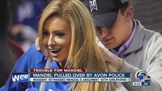 930A: Police Report: Johnny Manziel pulled over during domestic argument, admits to drinking