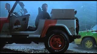 Jurassic Park 1-  Course Poursuite (Scène Culte)