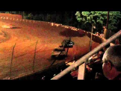 lake cumberland speedway jake duncan 8-20-11 heat race