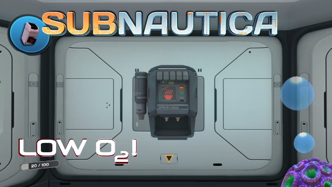 coffee machine subnautica