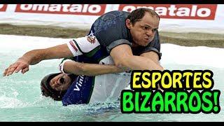 🔴 Os Esportes mais Estranhos e Bizarros do Mundo!