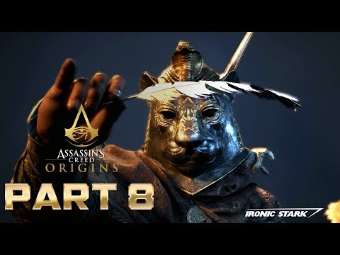 Assassin's Creed Origins PART 8 (DIE SNAKE DIE!)
