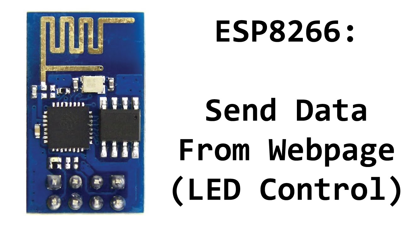 Send Data From Webpage to ESP8266 (Toggle Arduino Pins From Webpage)