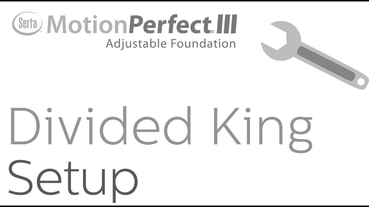 Serta Motion Perfect Iii Divided King Youtube