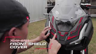 Hayaidesu Honda ADV Front Shield Body Protector Cover