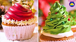 Top 10 Cupcake Decorating Hacks For This Holiday Season | DIY Easy Christmas Recipes By Deli Wow