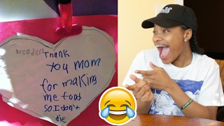 Funny Valentines Day Cards By Kids REACTION!!!