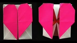 3D Origami: How to make a Heart Box