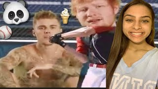 Baixar ED SHEERAN & JUSTIN BIEBER - I DON'T CARE ( OFFICIAL MUSIC VIDEO ) REACTION / REVIEW