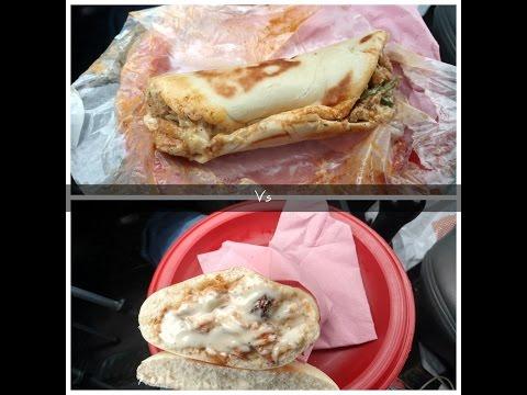 Paradise vs Arabic shawarma food fight