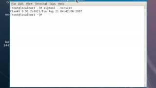 Clam MD5 in Linux