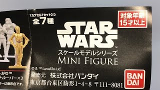 STAR WARS MINI FIGURE-スターウォーズミニフィギュア