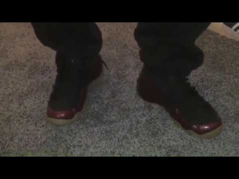 109c475ccb140 Nike Air Foamposite One Night Maroon Gum Brown Review - YouTube