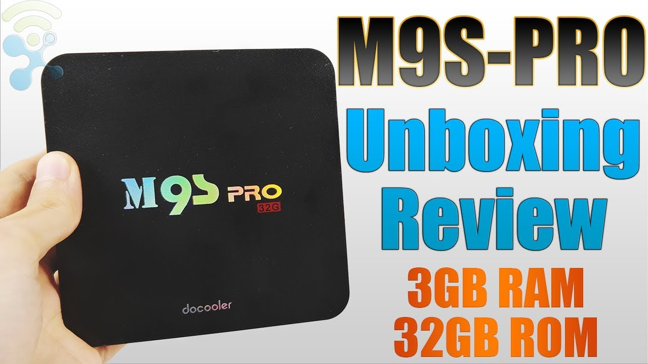 Docooler M9S-PRO 3GB RAM 32GB ROM 4K Android 6 0 TV Box : Unboxing & Review