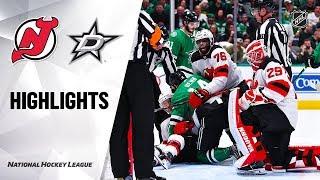 NHL Highlights | Devils @ Stars 12/10/19