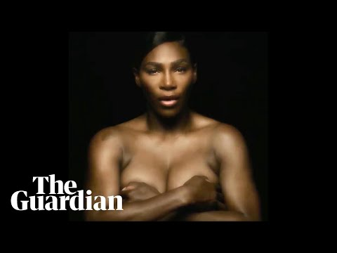 Serena Williams sings I Touch Myself topless to raise breast cancer awareness