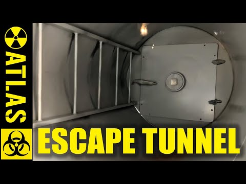 Atlas stands behind its products – Repair of an Escape Tunnel