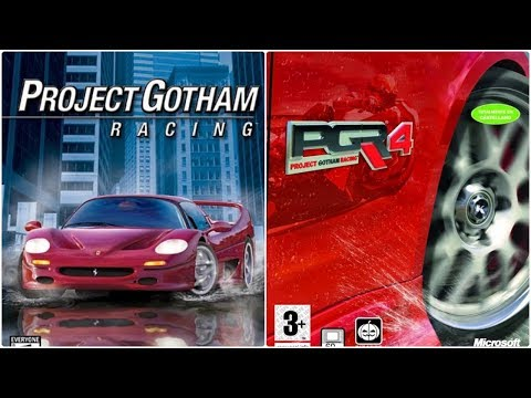 Project Gotham Racing Xbox Evolution (2001-2007)