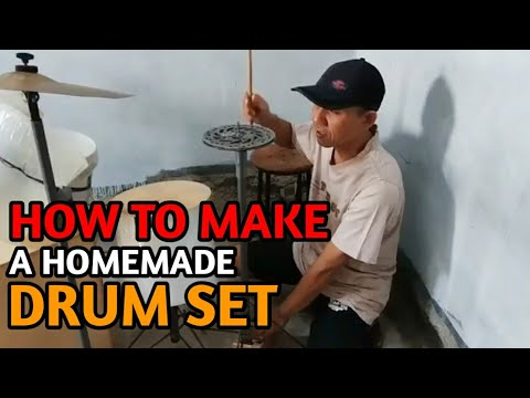 How To Make A Homemade Drum Set Like A Pro