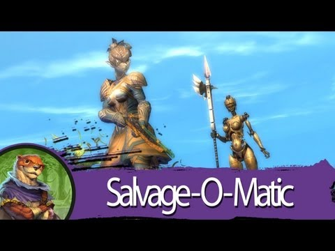 Guild Wars 2 - Gem Store Preview - Copper-Fed Salvage-o-Matic