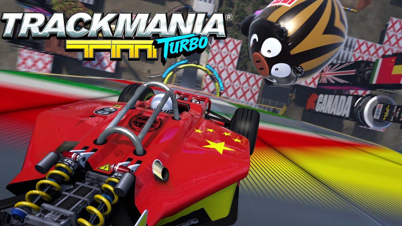 Trackmania Turbo - Announcement trailer - E3 2015 [UK]