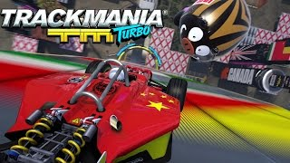 Trackmania Turbo - Announcement trailer - E3 2015 [UK]
