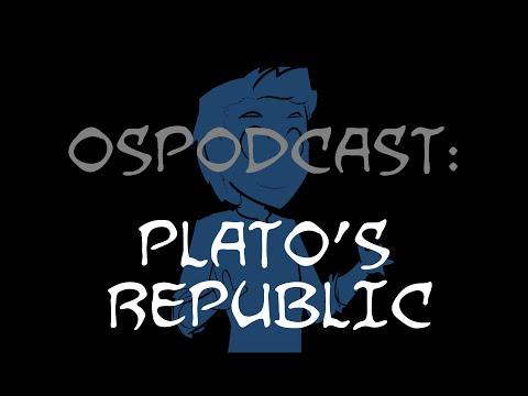Overly Sarcastic Podcast: Blue Talks Plato's Republic