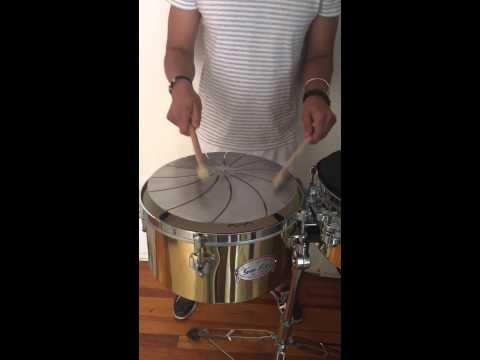 New percussion instrument Hadphoon
